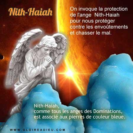 L'ange Nith-Haiah protège contre les envoûtements et les forces du mal