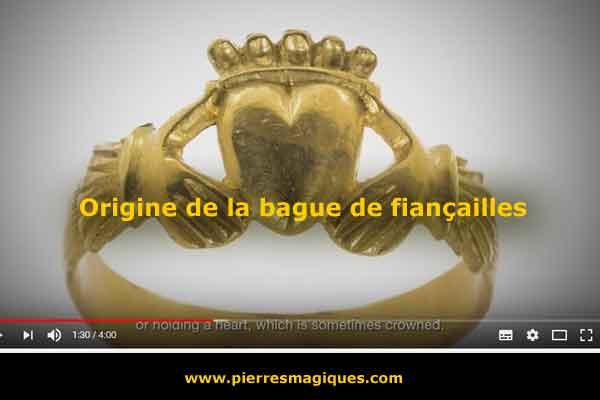 vidéo – Origine de la bague de fiançailles