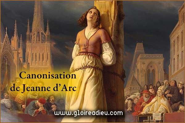 La canonisation de Jeanne d'Arc