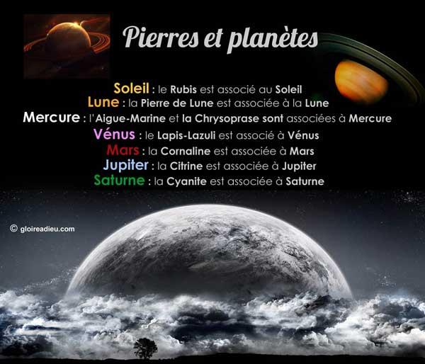 Pierres de protection selon votre planète et votre signe astrologique