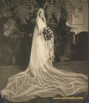 L'histoire et l'origine de la robe de mariée