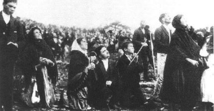 La danse du soleil à Fatima, apparitions et prophéties de la Vierge Marie