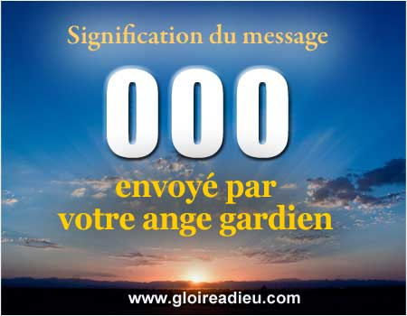 Signification  000