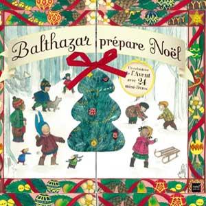 Calendrier de l'avent Balthazar prépare Noël