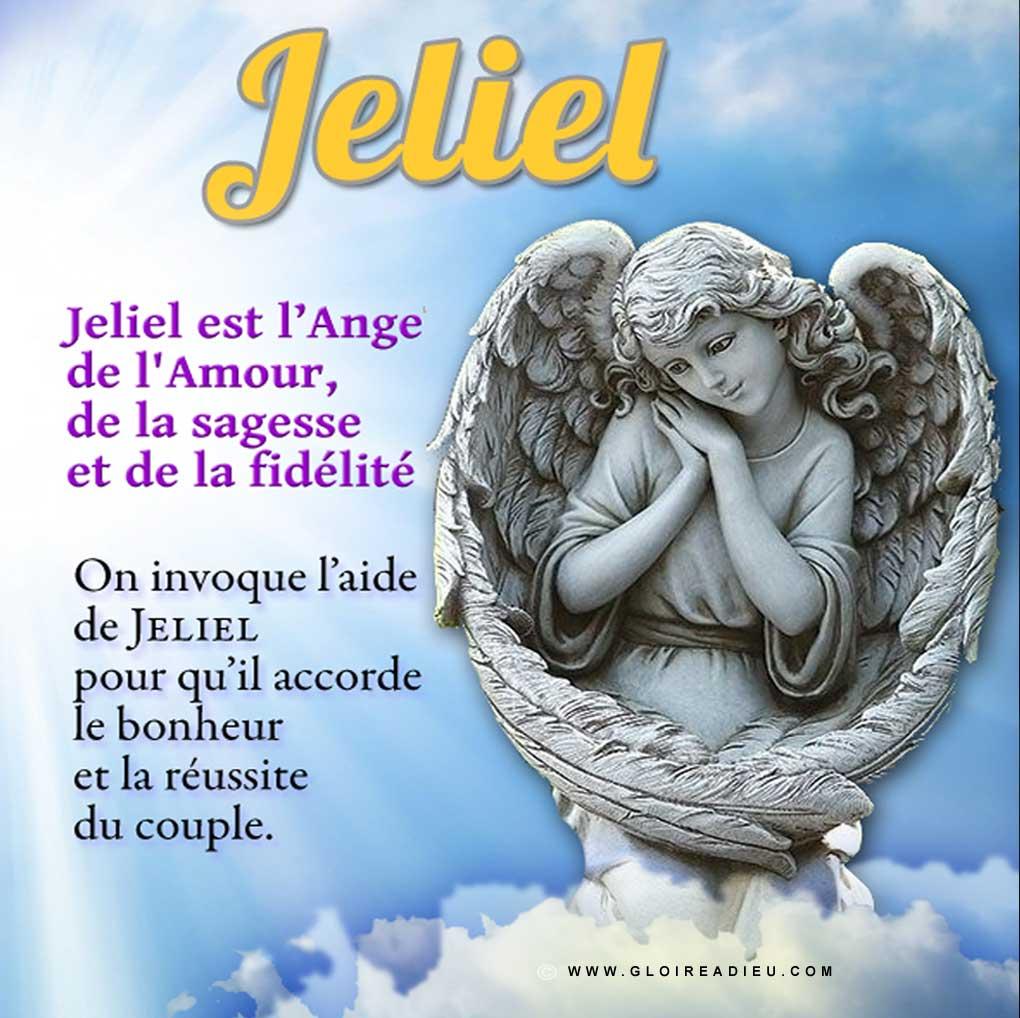 Image – ange Jeliel, l'ange de l'amour