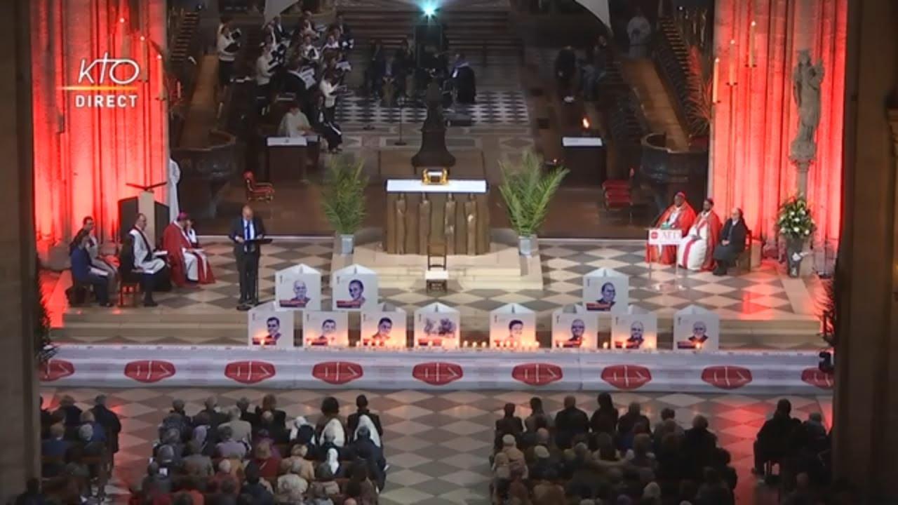 Hommage aux chrétiens tués pour leur foi en Dieu – vidéo