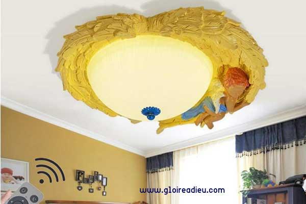 belle lampe de plafond ange
