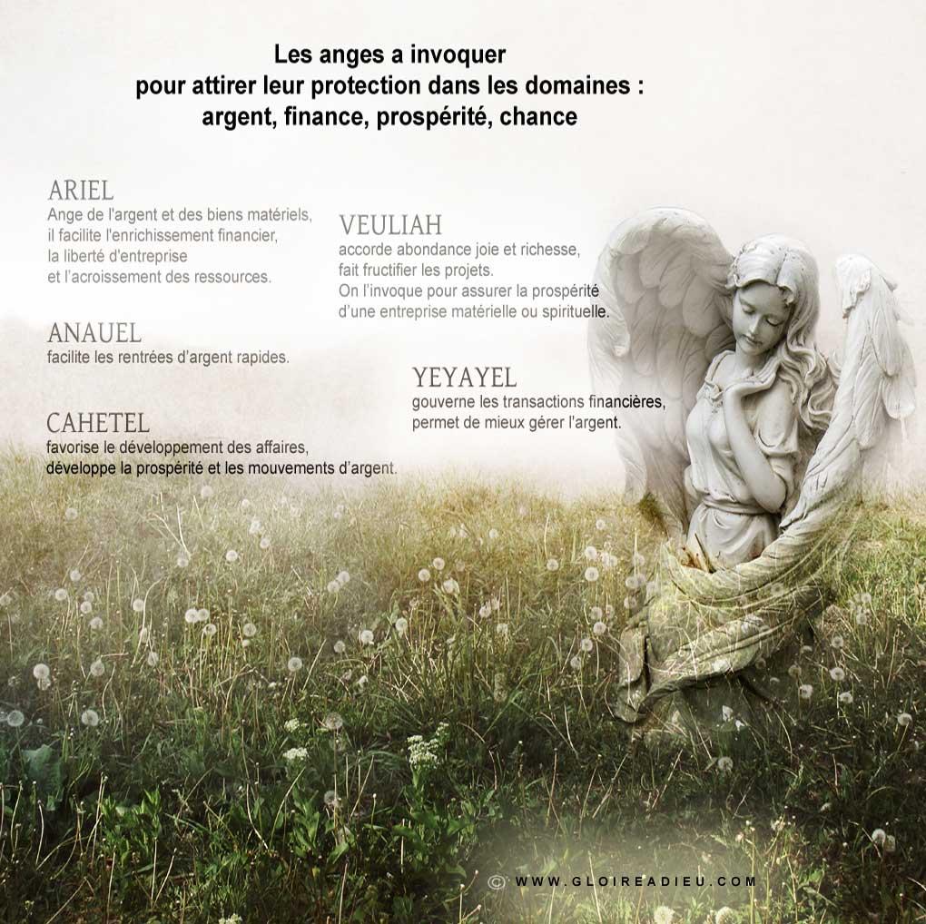 Image – les anges à prier pour avoir de l'argent