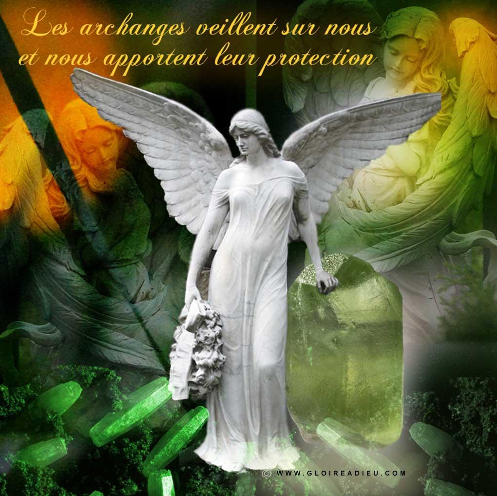 Image – les archanges nous protègent