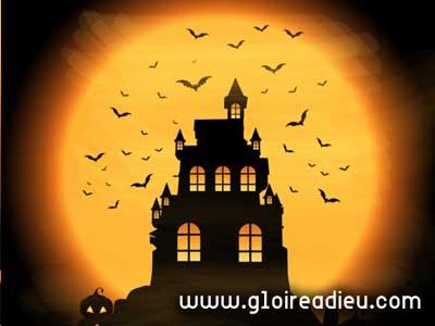 Que représentent les symboles de la nuit d'Halloween?