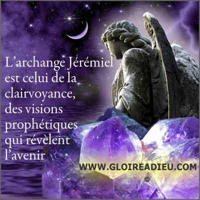 Jeremiel archange de la clairvoyance et des visions prophétiques
