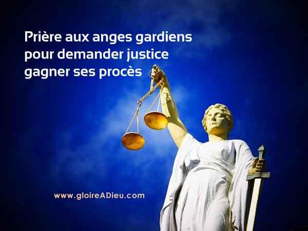 Prière aux anges gardiens pour obtenir la justice – video