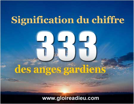 Signification du message 333