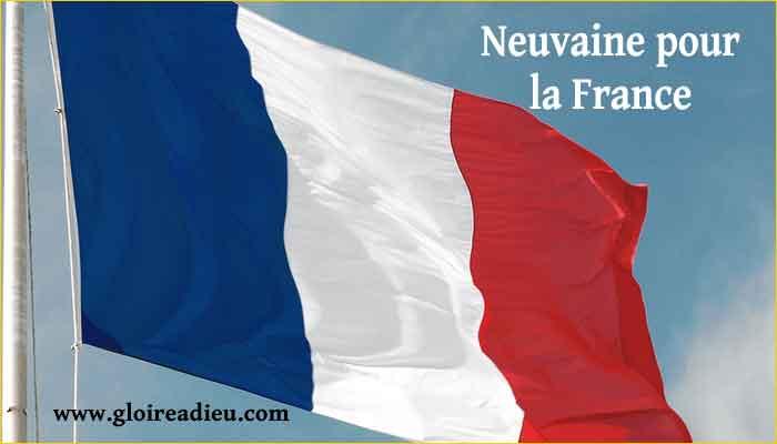 Neuvaine de prières de protection pour la France