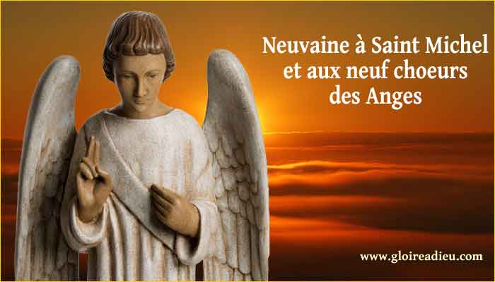 Neuvaine Saint Michel Anges