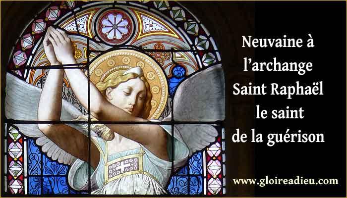 Neuvaine à l'archange Raphaël le Saint de la guérison