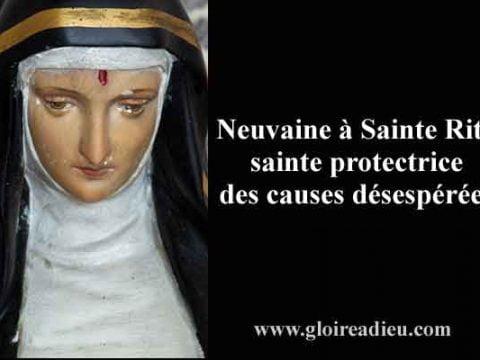 Neuvaine à Sainte Rita la sainte des causes désespérées