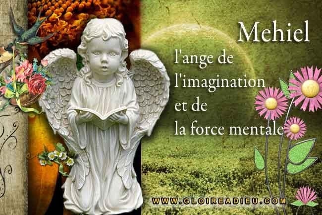 Mehiel l'ange qui nous aide à développer notre force mentale