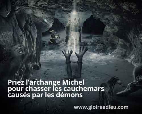 L'ange Michel peut vous protéger contre les cauchemars et les mauvais rêves