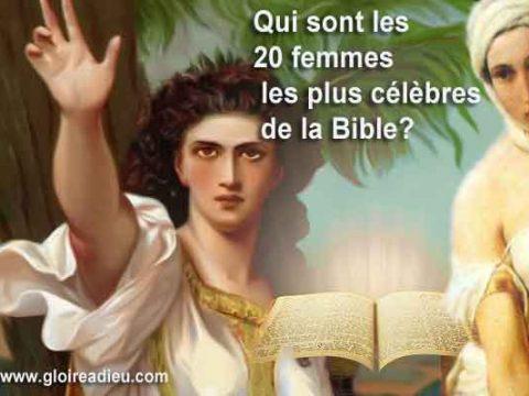 Qui sont les 20 femmes les plus célèbres de la Bible?