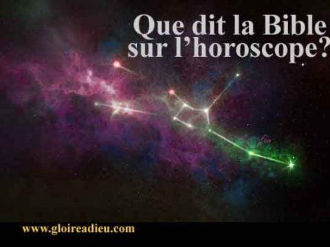 L'horoscope et la Bible