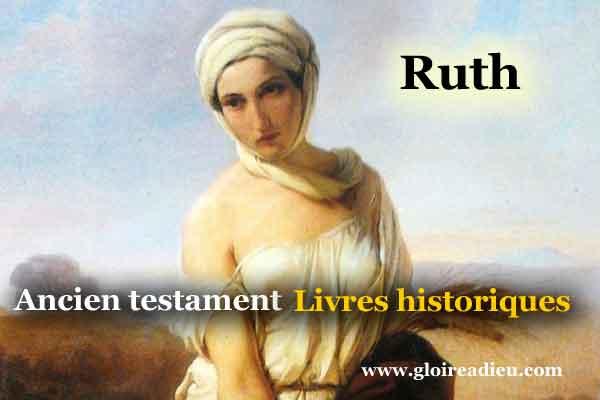 08 – Livre de Ruth- Bible livres historiques ancien testament