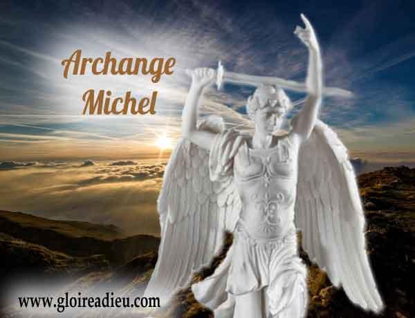 Le pape demande à St Michel de protéger la France