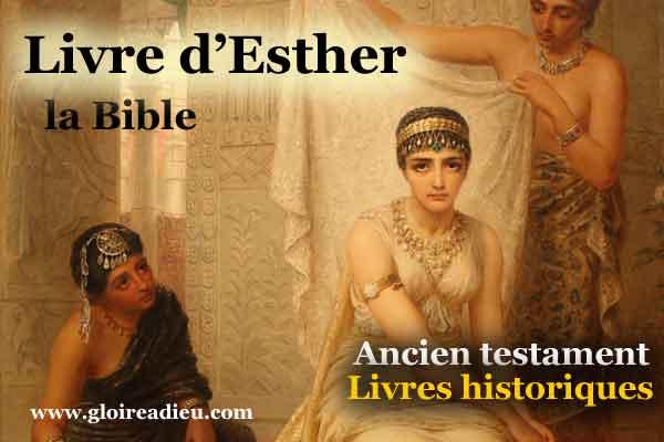 17 – Livre d'Esther – ancien testament – Bible