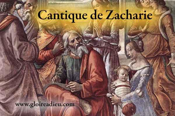 Cantique de Zacharie