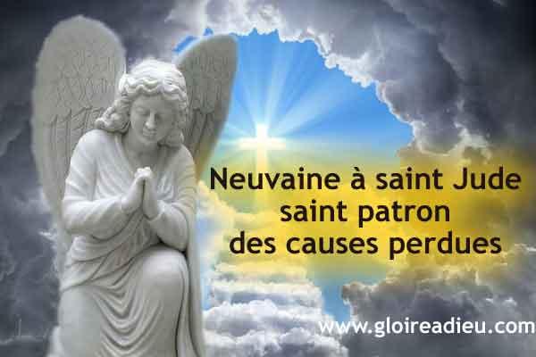 Neuvaine à saint Jude saint patron des causes perdues