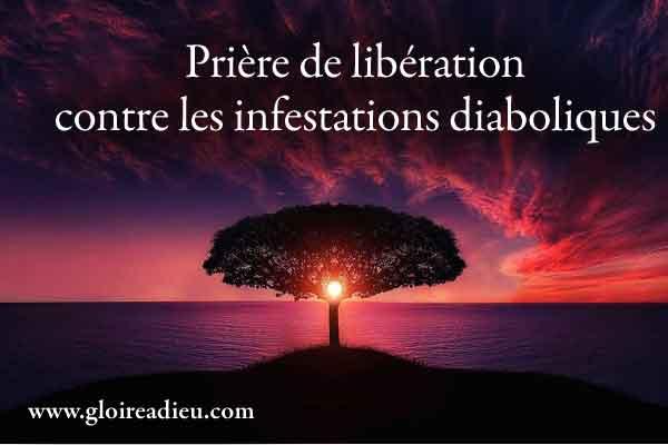 Prière de libération contre les infestations diaboliques