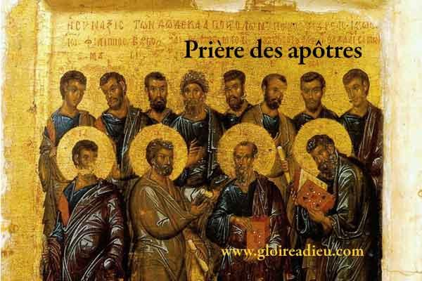 Prière des apôtres