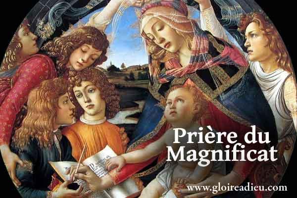 Magnificat, la prière de Marie