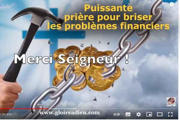 Puissante prière en cas de problèmes financiers  – vidéo
