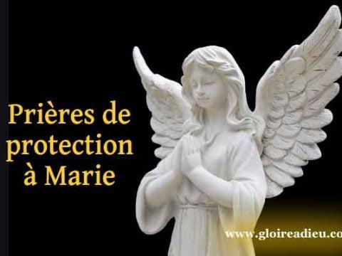 Prière de protection à Marie