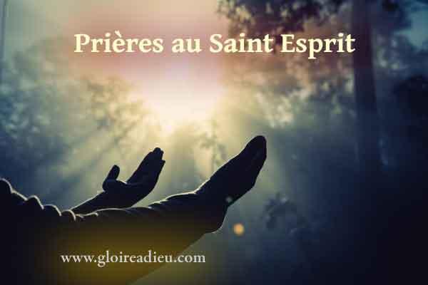 Prières au Saint Esprit