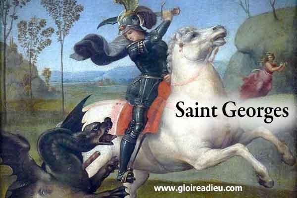 Saint Georges, le saint qui a terrassé le dragon