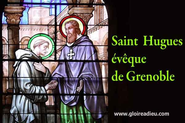 Saint Hugues évêque de Grenoble
