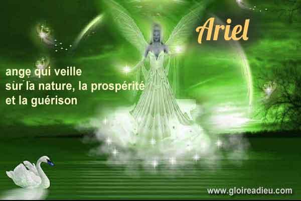 46 – Ariel veille sur la nature, prospérité et la guérison