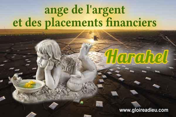 59 – Harahel ange de l'argent et des placements financiers