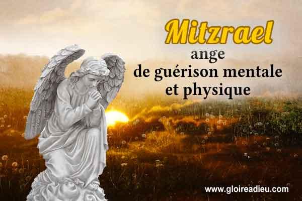 60 – Mitzrael l'ange de guérison mentale et physique