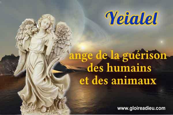 58 – Yeialel ange de la guérison des humains et des animaux