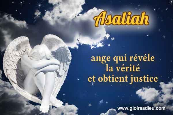 47 – Asaliah l'ange qui révéle la vérité et obtient justice