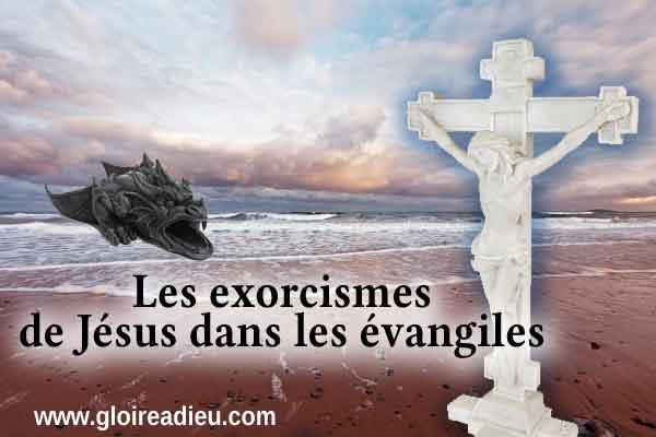 Les exorcismes de Jésus dans les évangiles