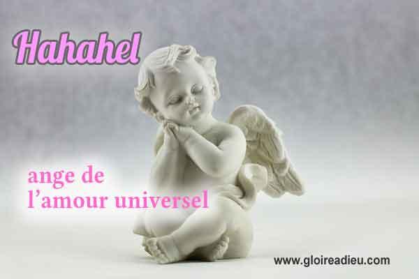 41 – Hahahel ange de l'amour universel