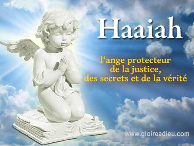 26 – Haaiah l'ange de la justice, des secrets et de la vérité