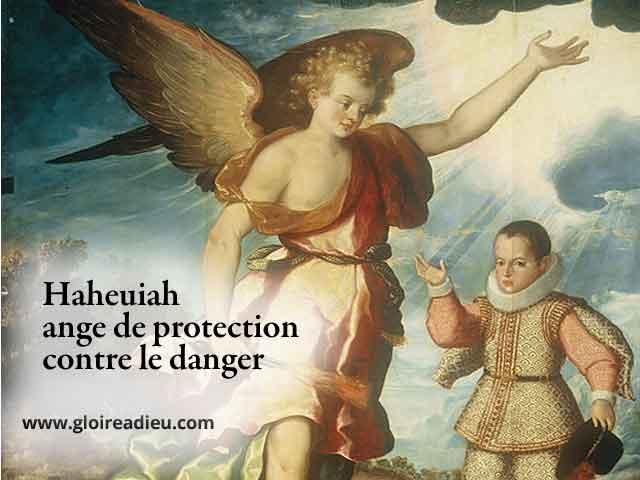 24 – Haheuiah ange gardien de protection contre le danger