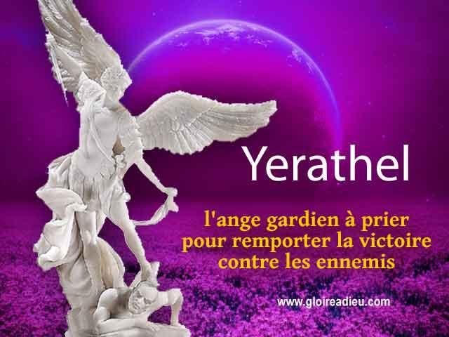 27  – Yerathel l'ange gardien qui apporte la victoire contre les ennemis