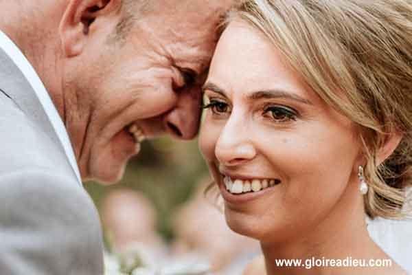 Incroyable album photo de mariage pour une mariée aveugle