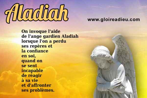 Priere à l'ange Aladiah pour obtenir la résolution des problèmes